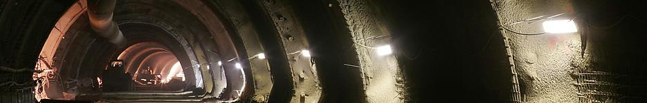 Buschtunnel Aachen-ronheide - Kalottenvortrieb