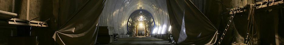 Buschtunnel Aachen-Ronheide - Ausbau
